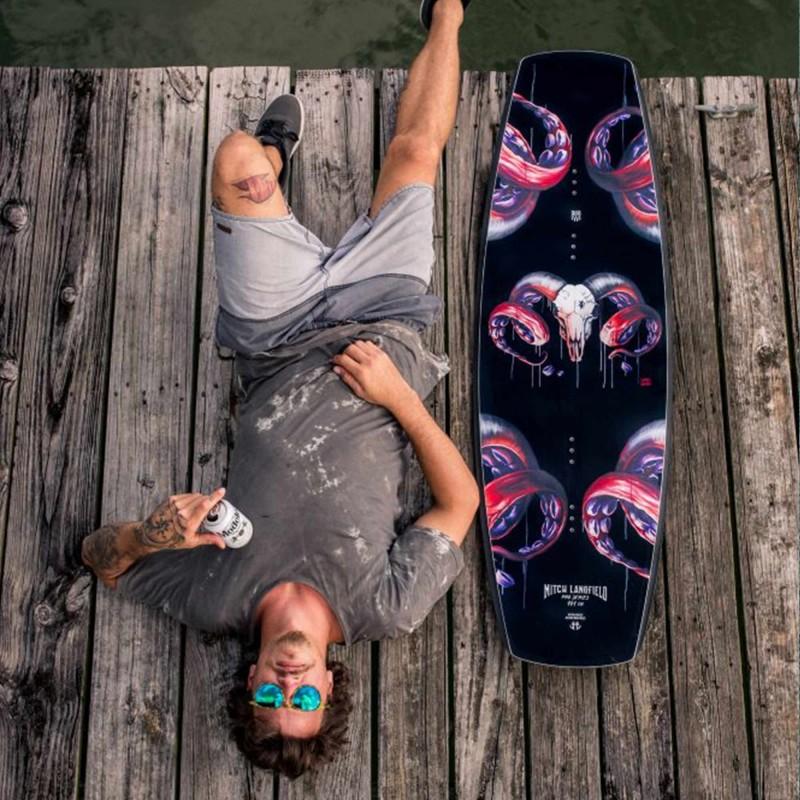 planche de wakeboard Humanoid Langfield Pro 2017 ride