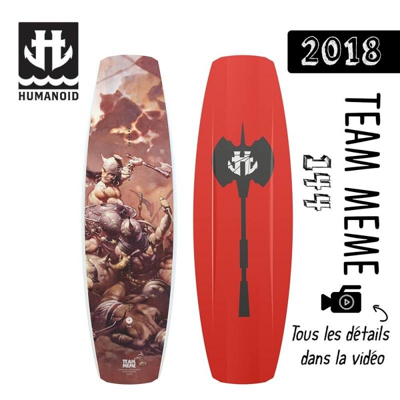 planche de wakeboard Humanoid 2018 Team Meme 149 destockage