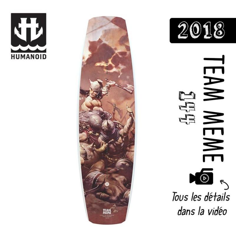 planche de wakeboard bon plan Humanoid 2018 Team Meme 144 cm bon plan