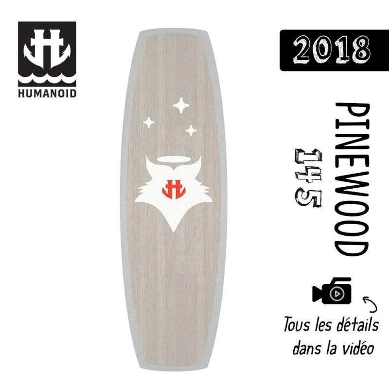 Planche de wakeboard homme Humanoid 2018 Pinewood 145 cm