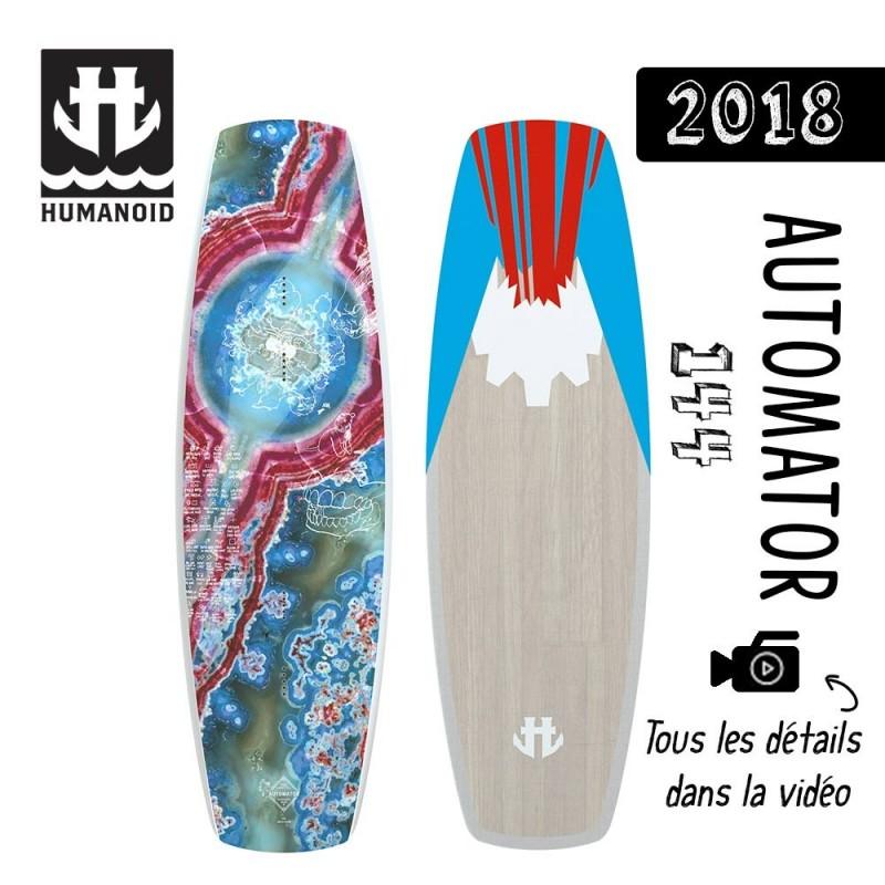 planche de wakeboard Humanoid 2018 Automator 144 cm bon plan