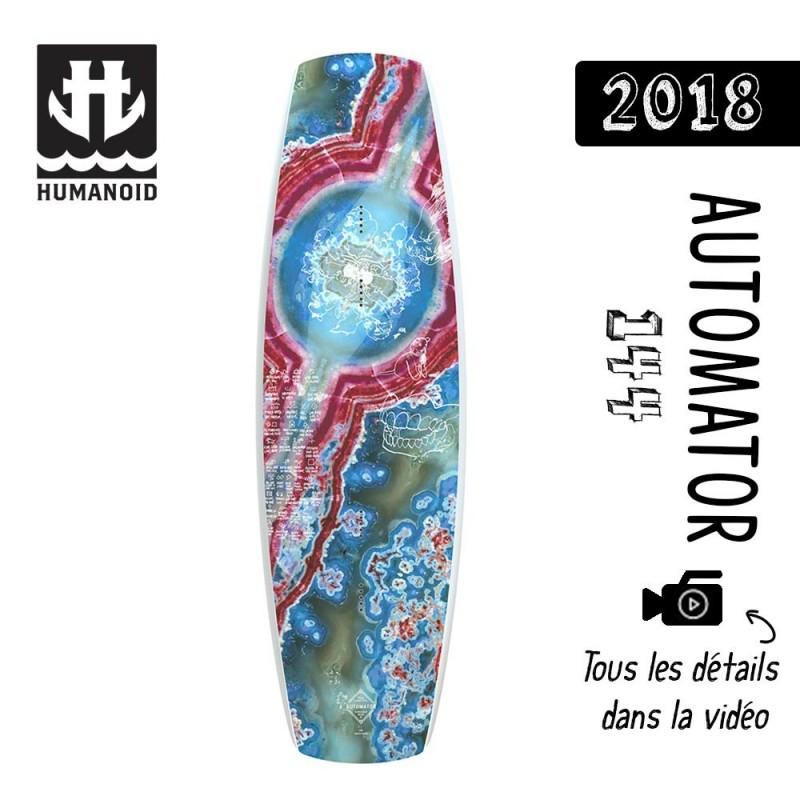 planche de wakeboard Humanoid 2018 Automator 144 cm destockage