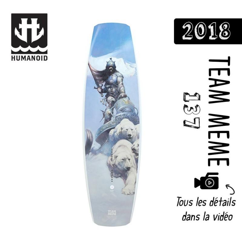planche de wakeboard bon plan Humanoid 2018 Team Meme 137 cm bon plan