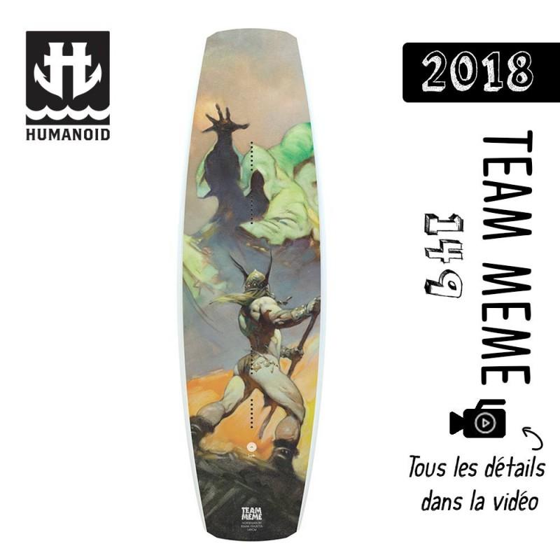 planche de wakeboard bon plan Humanoid 2018 Team Meme 149 cm bon plan