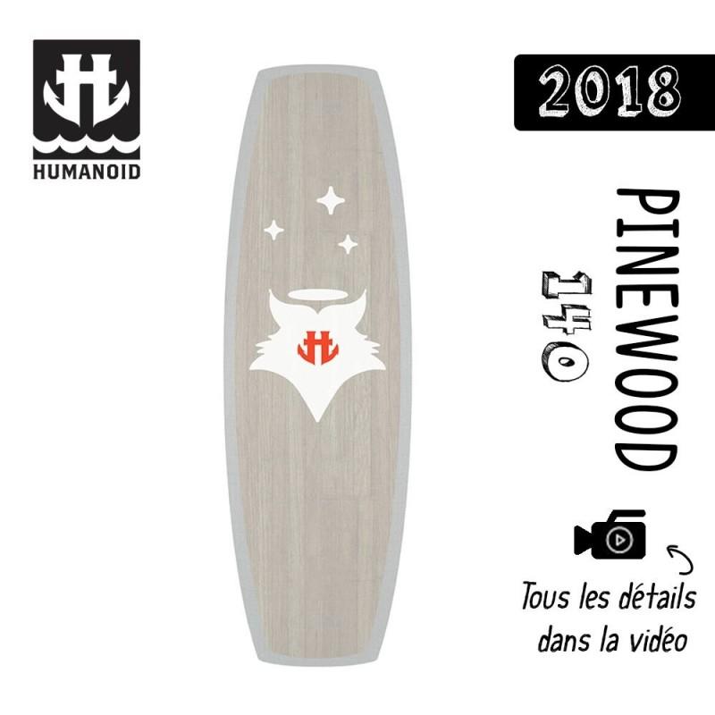 Planche de wakeboard homme Humanoid 2018 Pinewood 140 cm