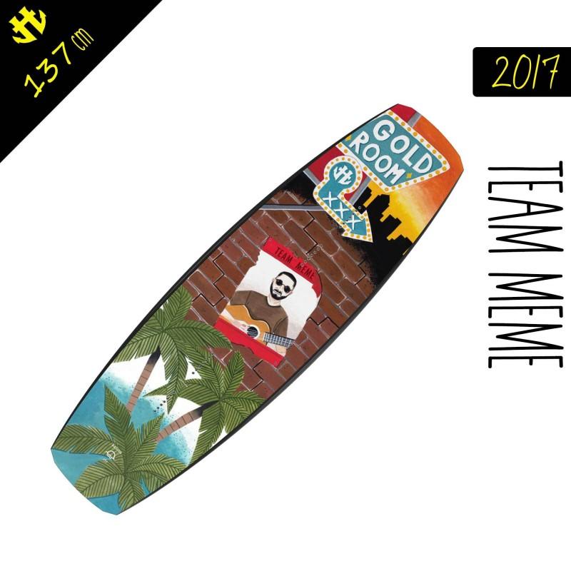 Humanoid 201 Team Meme planche de wakeboard homme 137 cm