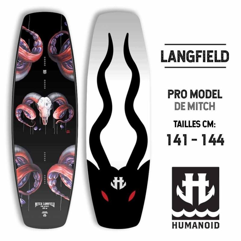 planche de wakeboard Humanoid Langfield Pro 2017 141, 144 cm