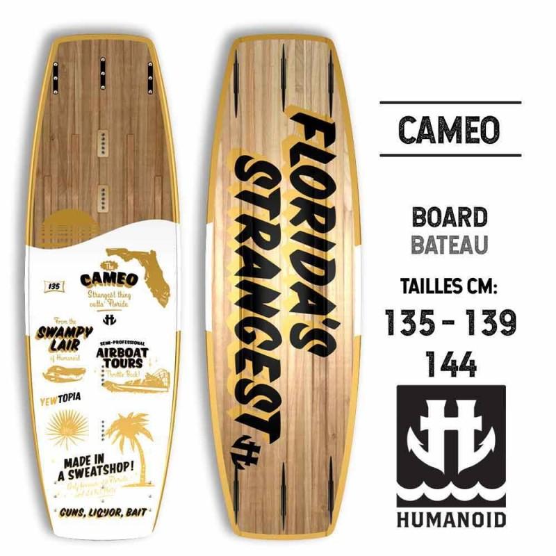 Humanoid wakeboard bateau Cameo 2017