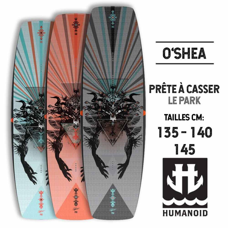 Wakeboard cable Humanoid OSHEA Park 2017 145, 140, 135 Cm wakeboard