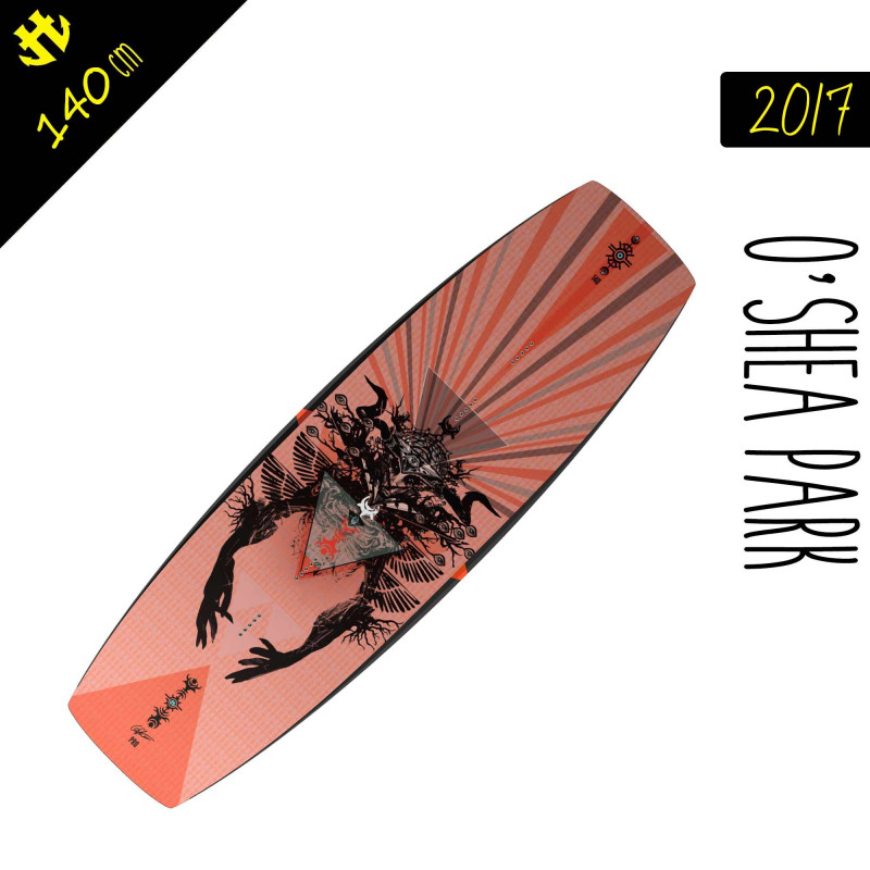 Wakeboard cable Humanoid OSHEA Park 2017 140 Cm pas cher