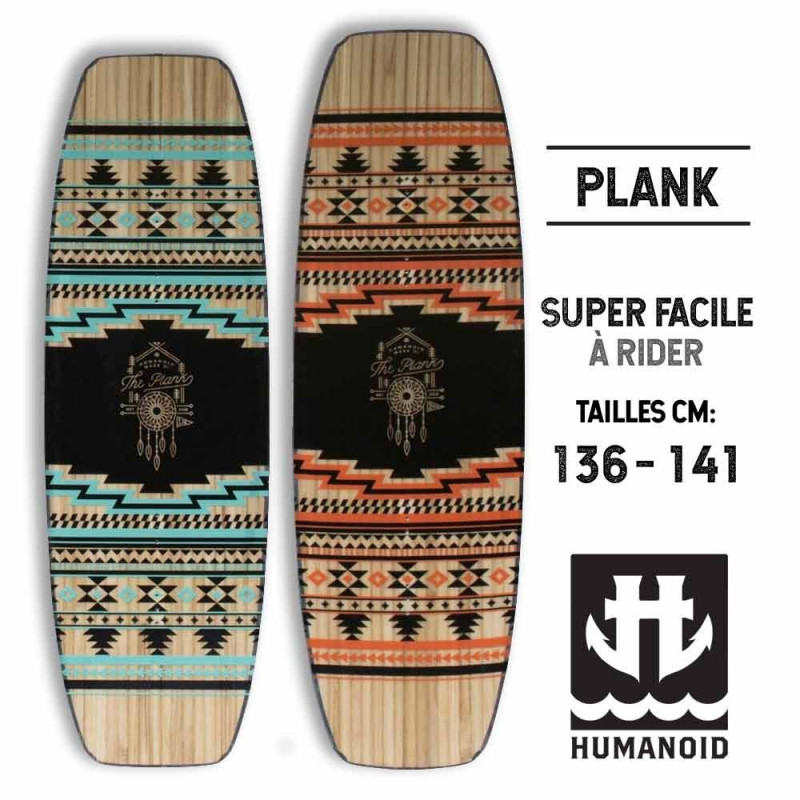 Humanoid wakeboard Plank 2015 pas cher 136, 141 cm