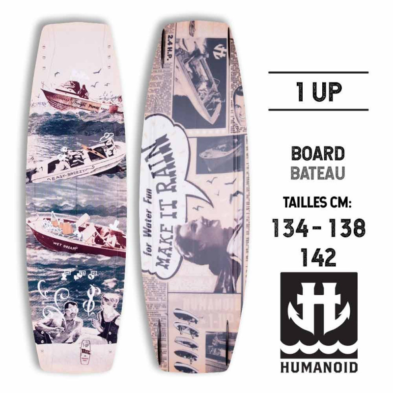 1UP HUMANOID Wakeboard 2015