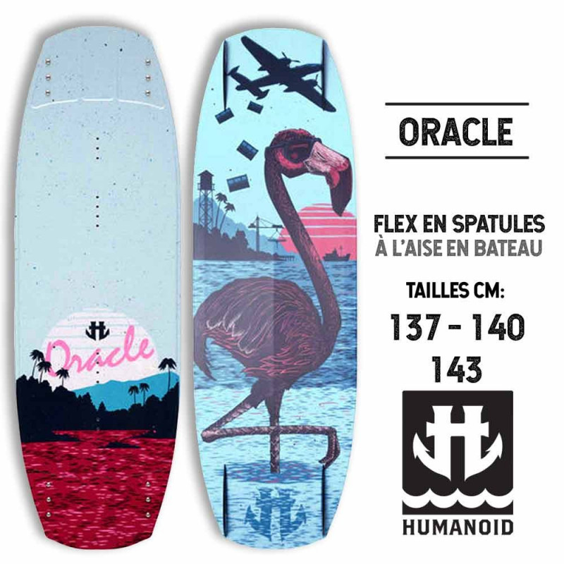 Oracle HUMANOID Wakeboard 2015