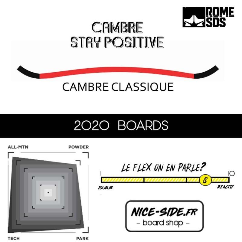 ROME SDS MOD 2020 planche de snowboard homme