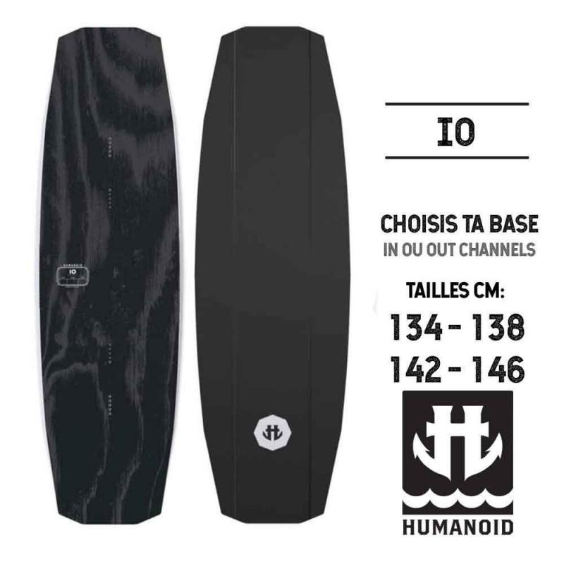 planche de wakeboard Humanoid 2019 IO 146 cm, 142 cm, 138 cm