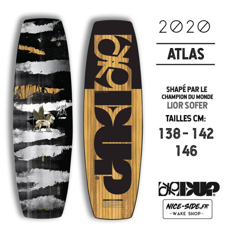 Double Up ATLAS wakeboard 2019 138-142-146 cm