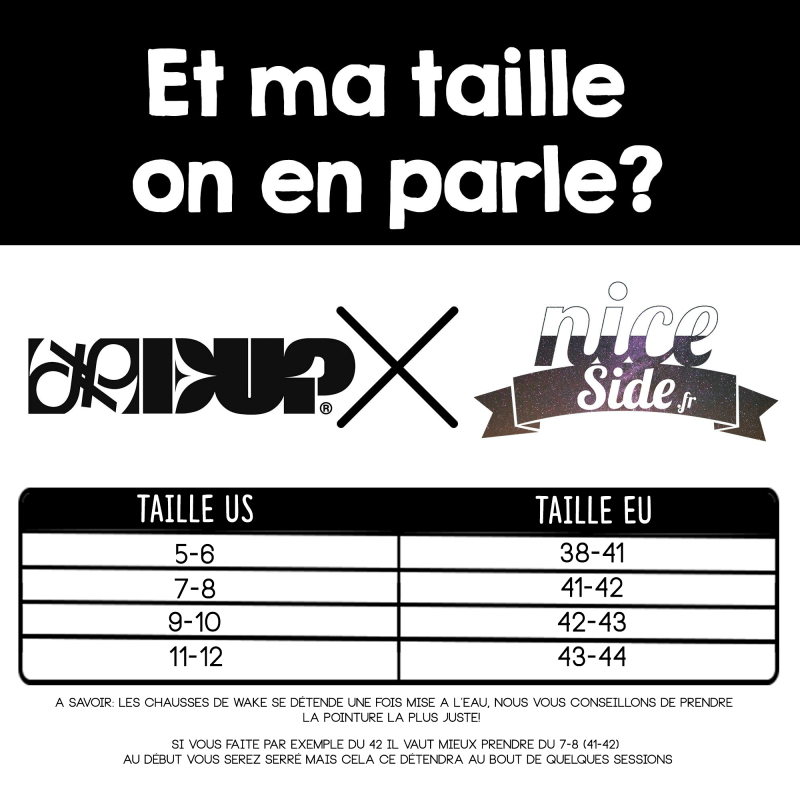 Double Up Program Double up chausses wakeboard 2020