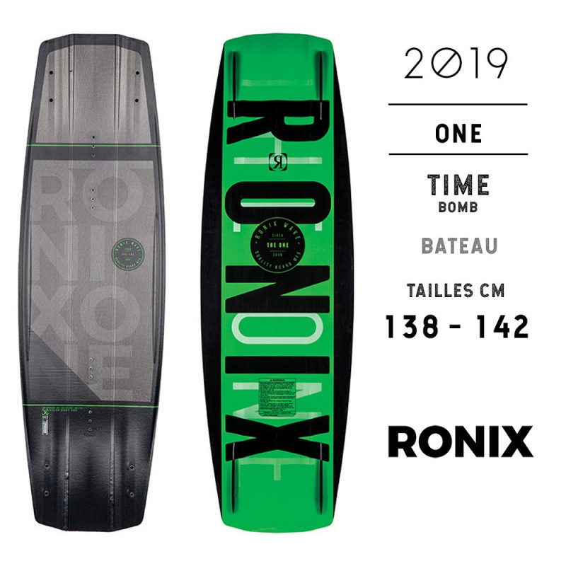 Ronix One Time Bomb wakeboard park 2019 destockage