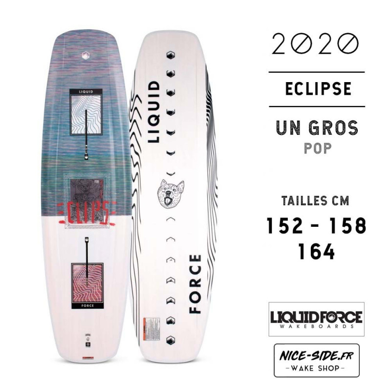 Liquid Force ECLIPSE 2020 parkboard homme