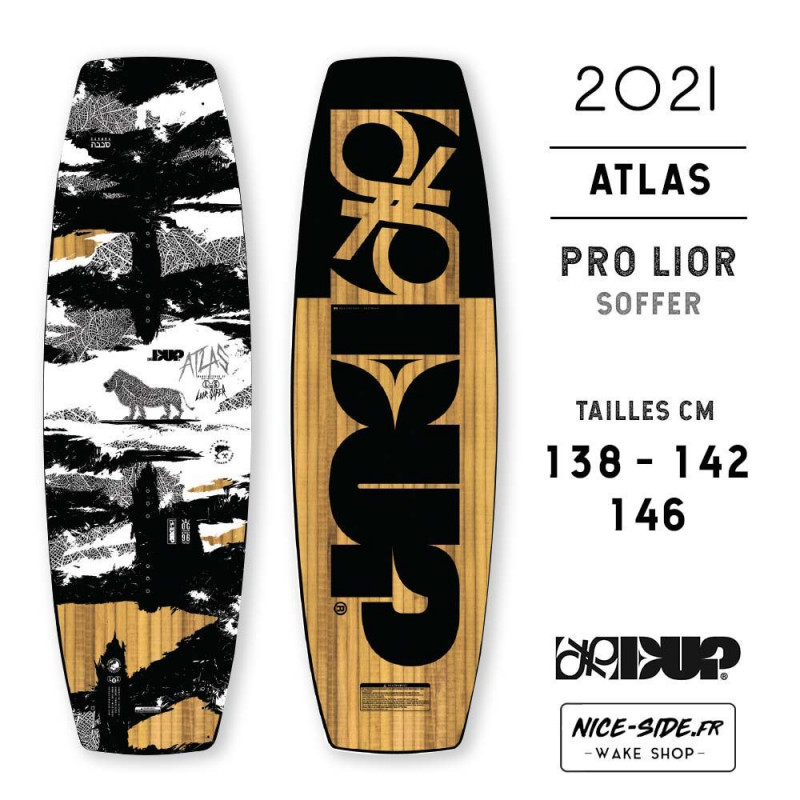 Double Up Atlas 2021 wakeboard homme