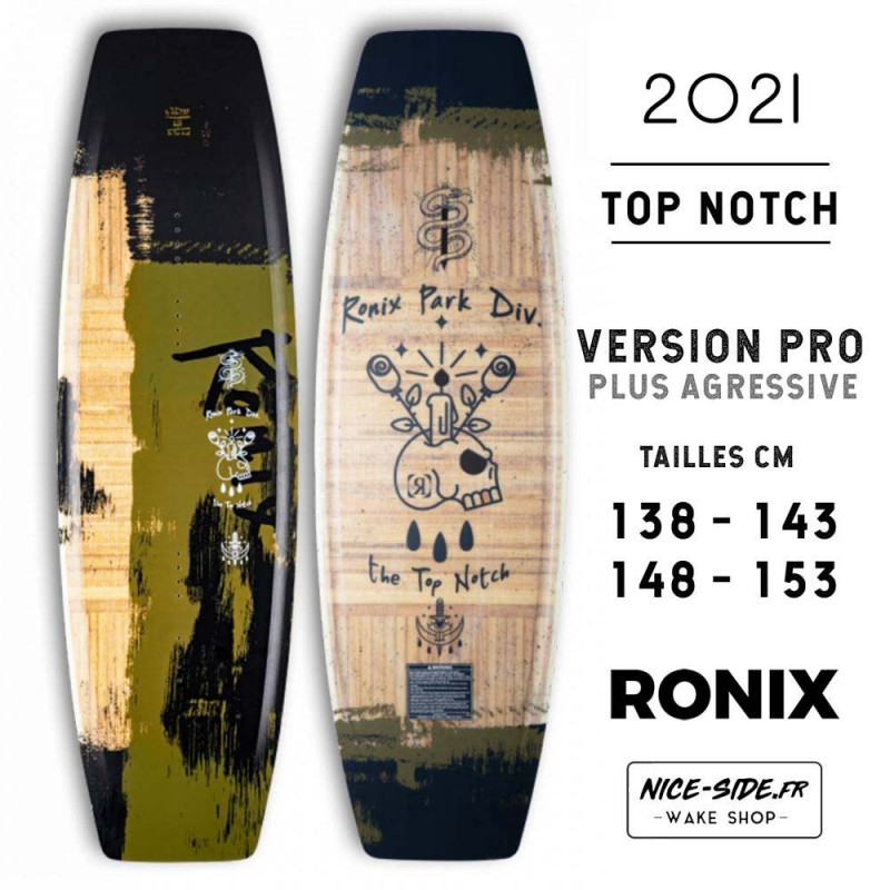 Ronix Top Notch Pro 2021 wakeboard homme