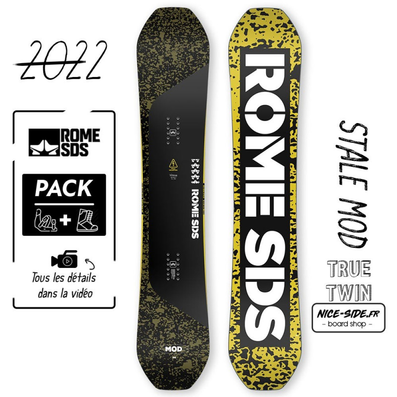Rome MOD 2021-2022 snowboard homme