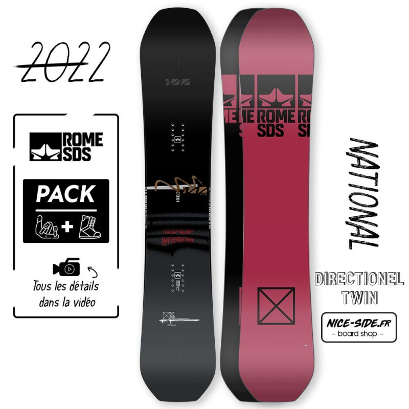 Romme National 2021-2022 snowboard homme