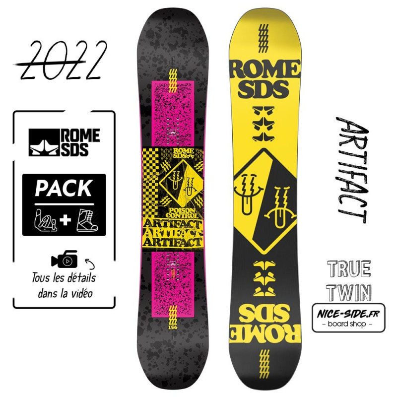 Rome Artifact 2021-2022 snowboard homme