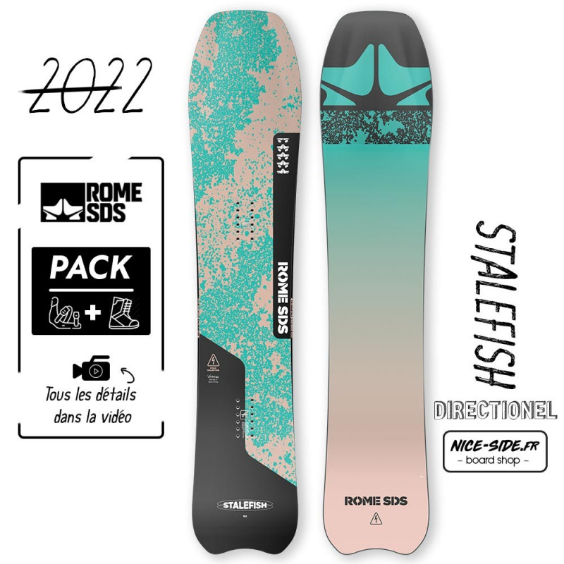 Rome Stale fish 2021-2022 snowboard homme