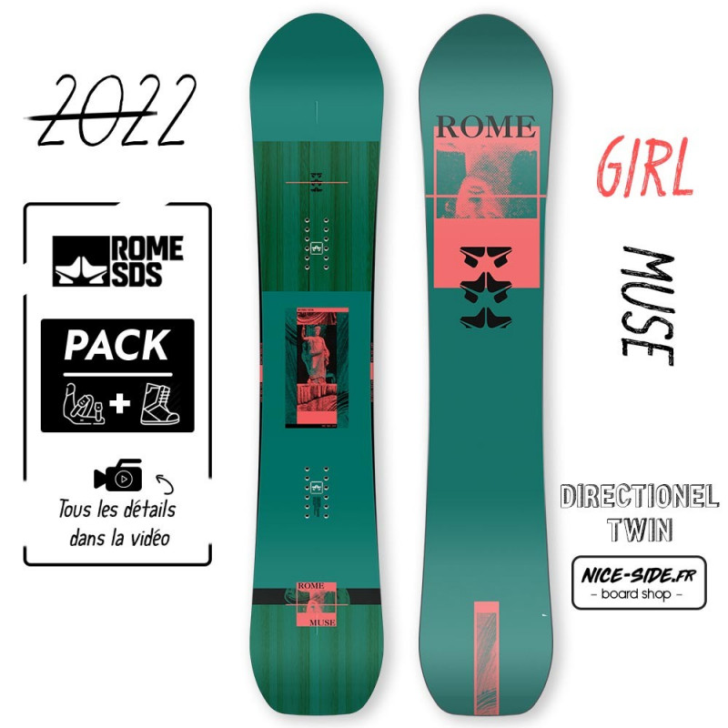 Rome Snowboard Muse 2021-2022 snowboard homme