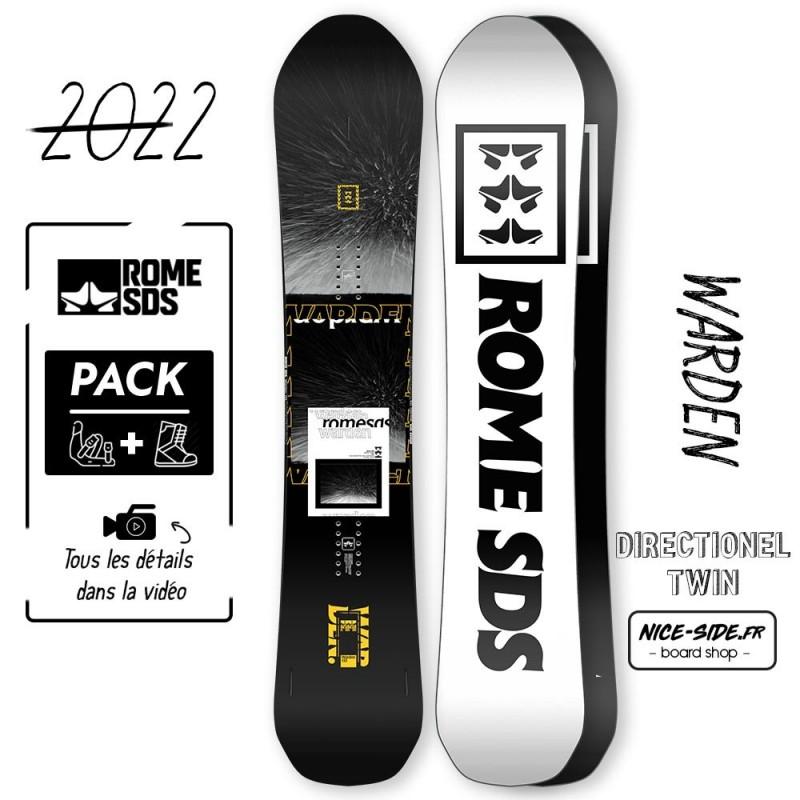 Rome Warden 2021-2022 snowboard homme