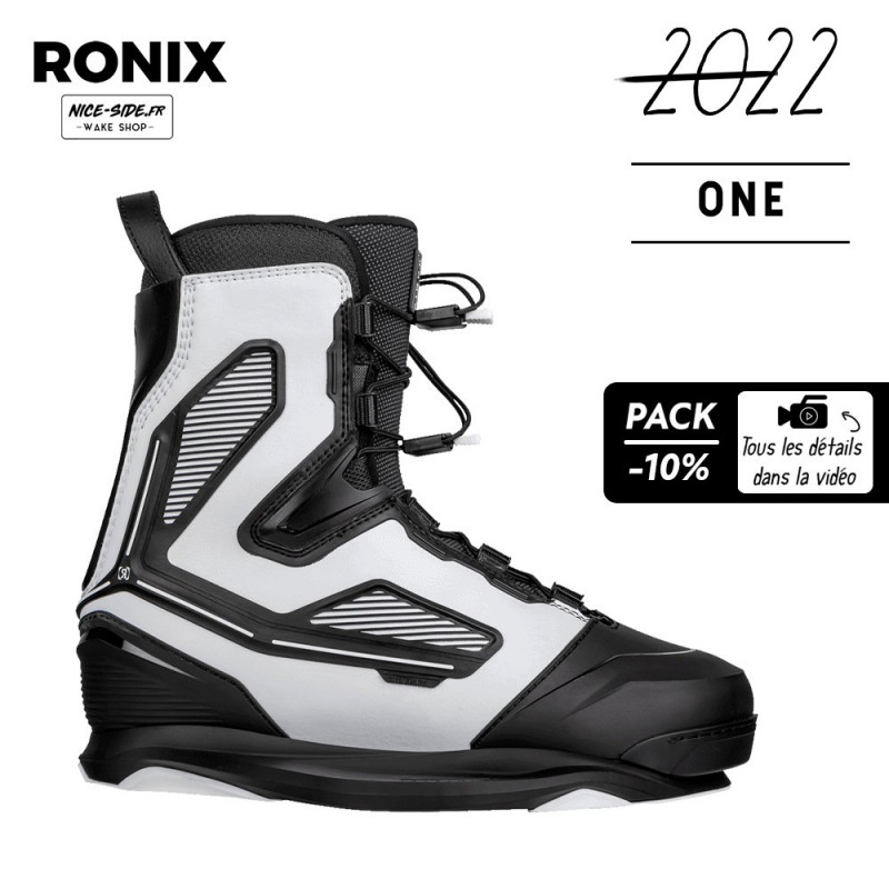 Ronix ONE INTUITION+ Chausses wakeboard cable homme 2022