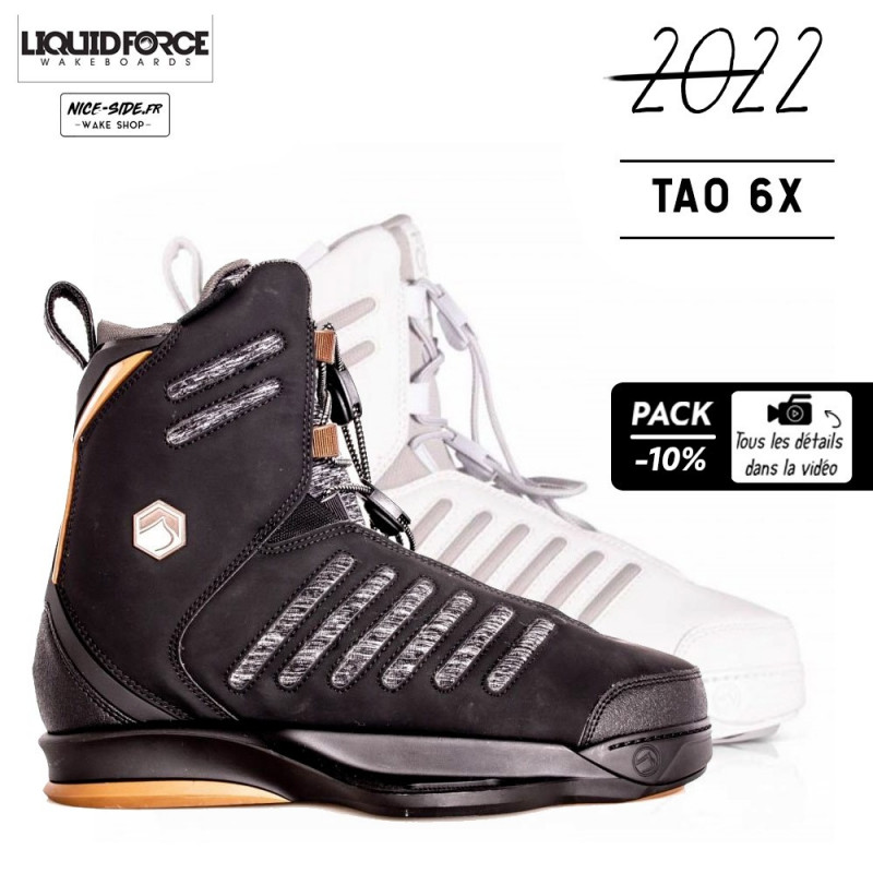 Liquid Force chausses TAO 6X wakeboard pack 2022