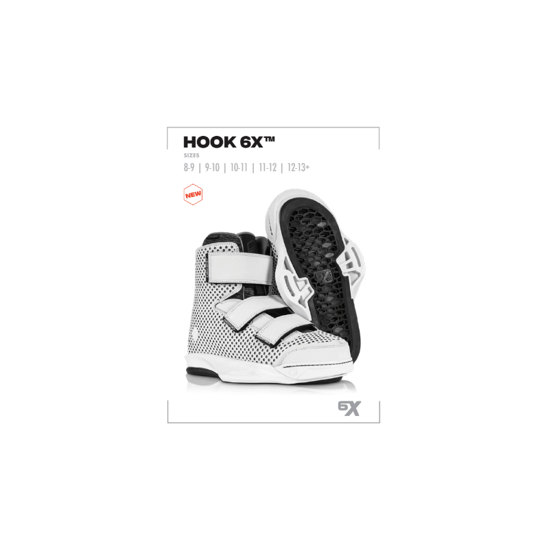 Liquid Force chausses Hook 6X 2021 wakebpard pack homme 2022