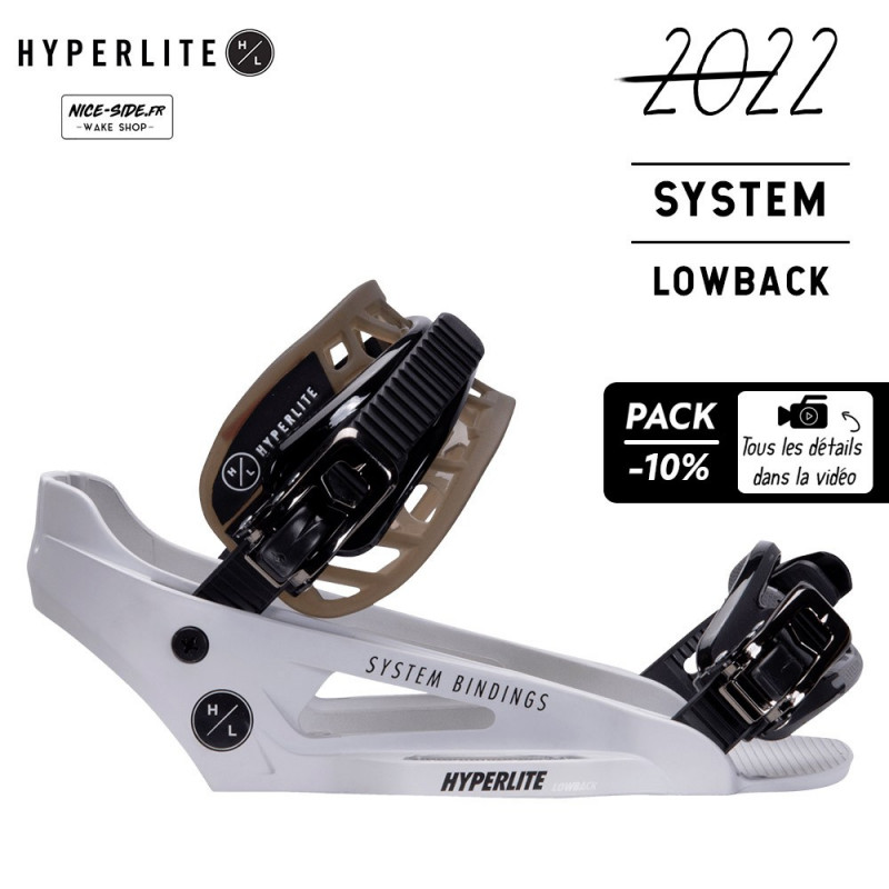 Hyperlite chausses SYSTEM LOWBACK