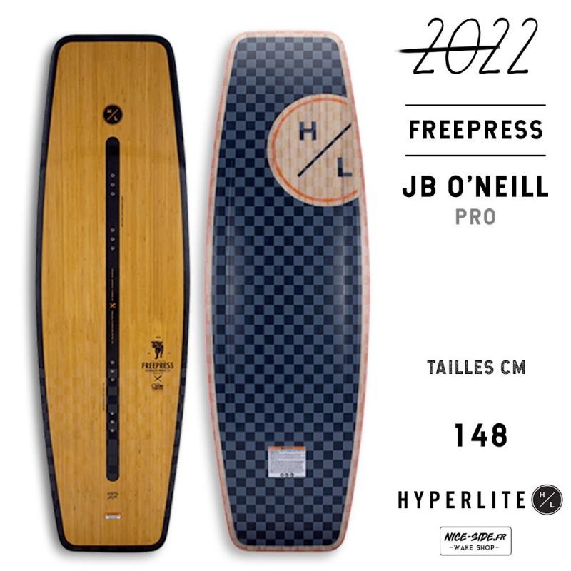 Hyperlite Freepress 2021 wakeboard homme wakepark