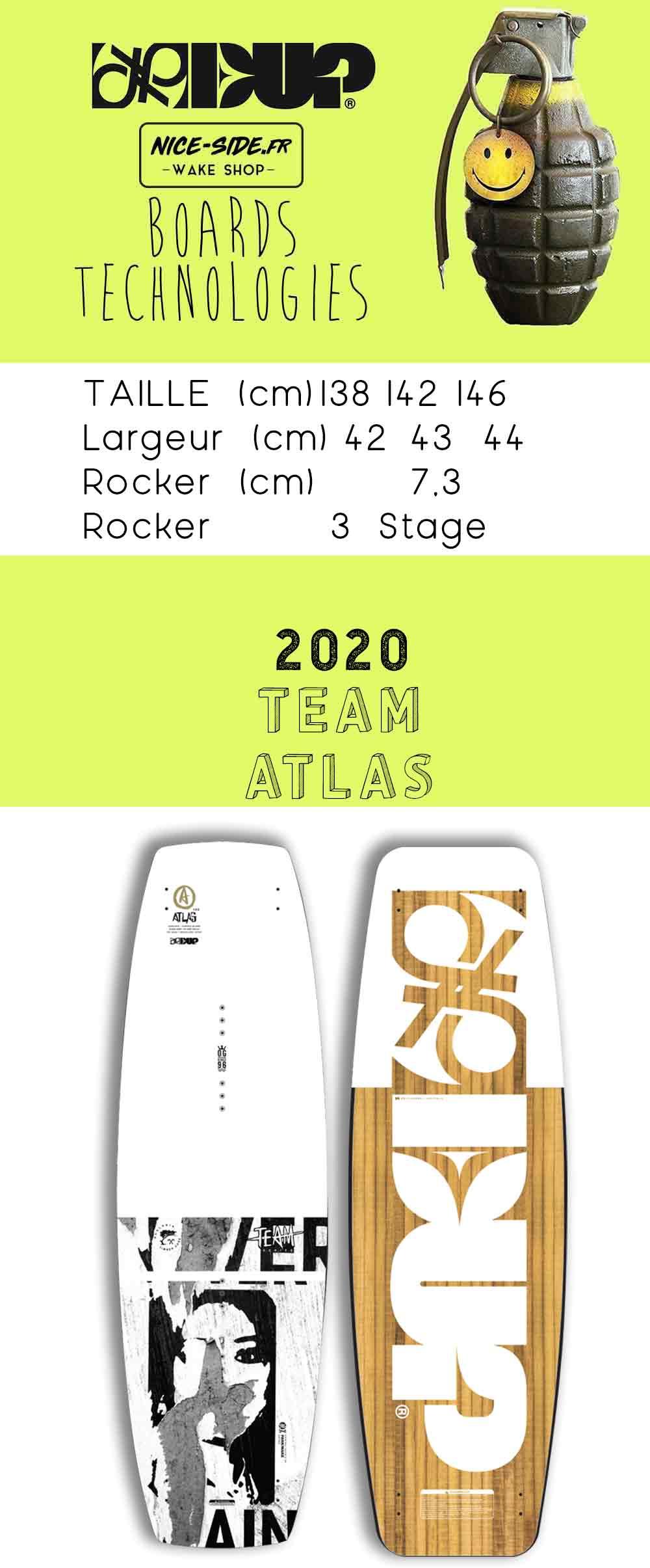 wakeboard ATLAS 2020