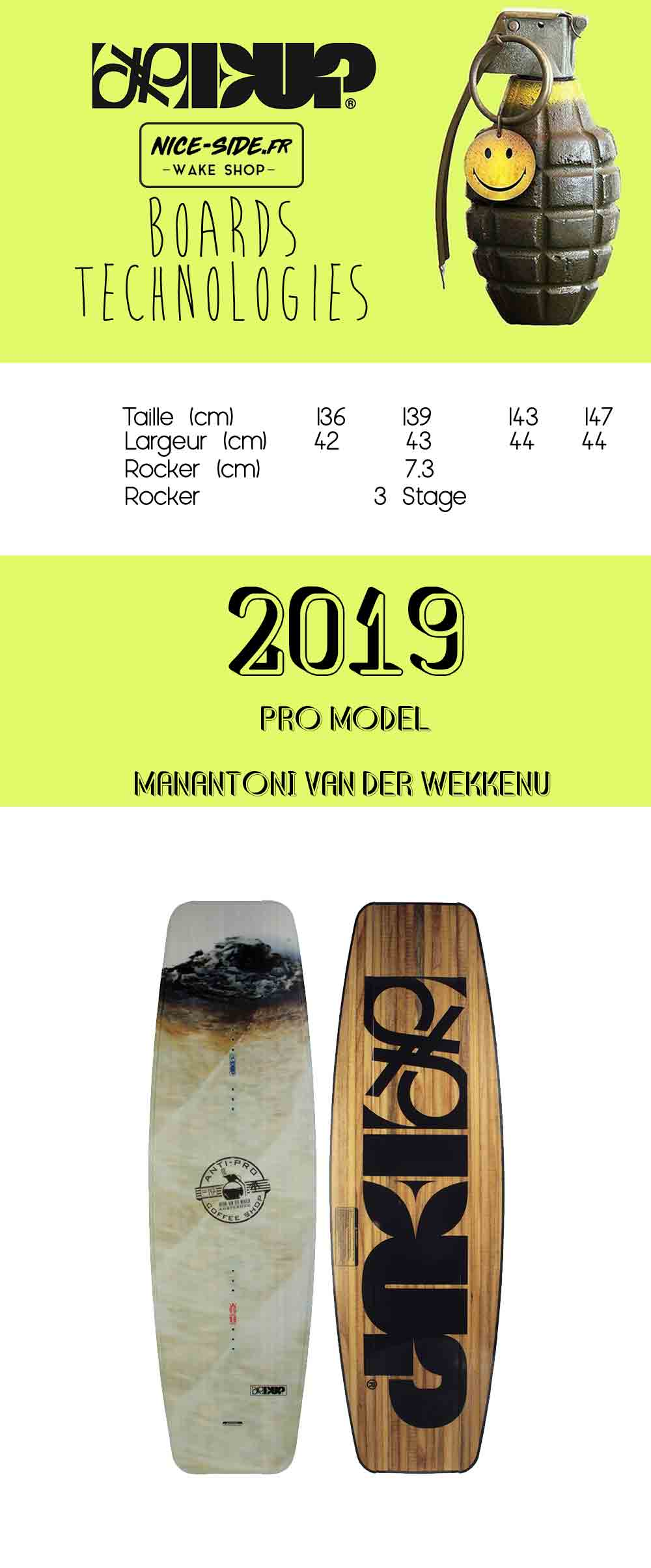 planche de wakeboard cable wakepark